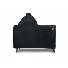 Big Green Egg Acacia Table Cover for Large Egg