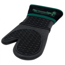 Big Green Egg Heat Resistant Silicone Mitt w/fabric cuff