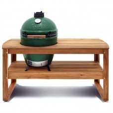 Big Green Egg Large Acacia Table Bundle