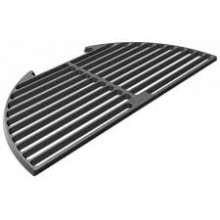 Big Green Egg Cast Iron Half Grid for XL EGGspander System
