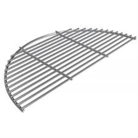 Big Green Egg Stainless Steel Half Grid for XL EGGspander System