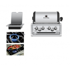 Broil King Imperial 490 Built In Grill Head - Free Cover