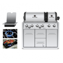 Broil King Imperial XLS Built In Cabinet BBQ - Free Cover