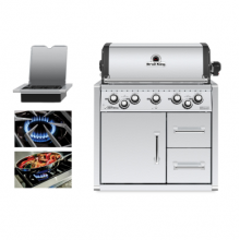 Broil King Imperial 590 Built In with Cabinet