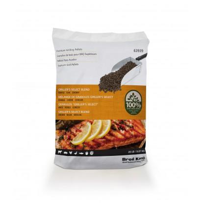Broil King Grillers Select Blend Wood Pellets 9kg - 63939