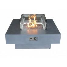 Capella Gas Fire Pit - Small Glass Screen