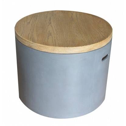 Sarin Gas Fire Pit - Wooden Cover