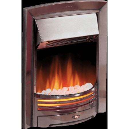 Dimplex Opti-Flame Adagio with Chrome Finish