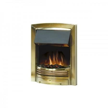 Dimplex Opti-Flame Adagio with Brass Finish
