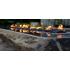 Elementi Long Granite Boulder Outdoor Firepit - Setup Service