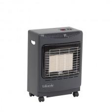 Lifestyle Mini Portable Gas Heater Grey