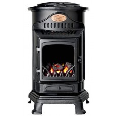 Provence Portable Gas Heater - Matt Black - Ex Display