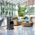 Provence Portable Real Flame Gas Heater - Matt Black