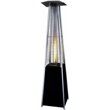 Lifestyle Tahiti II Real Flame Patio Heater in Black