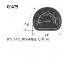 00475 BBQ Heat Indicator - Sterling, Broil King
