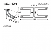 18202-78202 BBQ Burners - Sterling