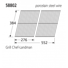 58802 BBQ Grill - Grill Chef