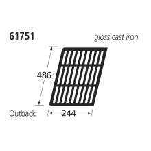 61751 BBQ CI Grill - Outback