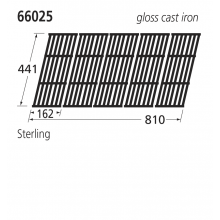 66025 BBQ Grill - Sterling