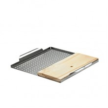 Napoleon Stainless Steel Multifuntional GrillTopper with Plank