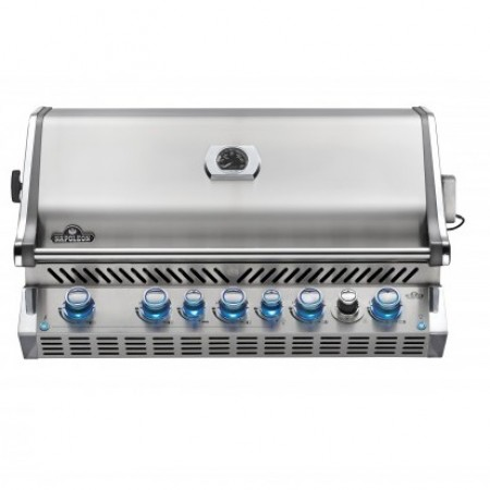 Napoleon Prestige BIPRO665RB-3 Built In Gas BBQ - Free Cover