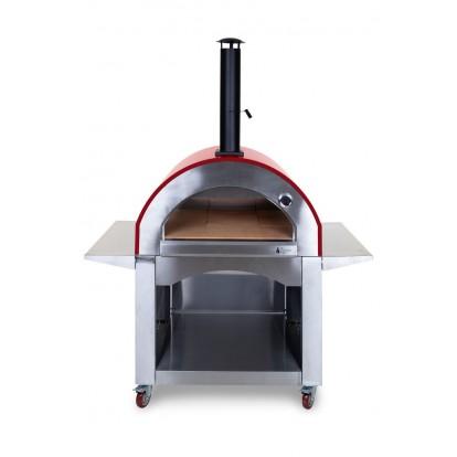 Alfresco Chef - Milano Pizza Oven - Red