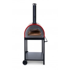 Naples Wood Fired Pizza Oven - Red