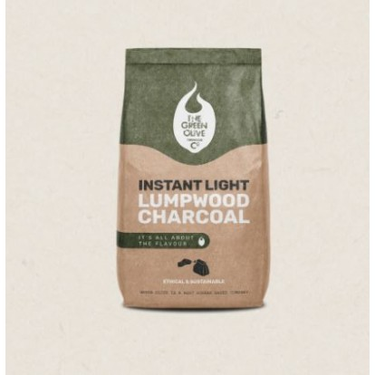Green Olive Charcoal - Instant Light Charcoal - 2kg