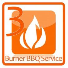 3 Burner BBQ Service