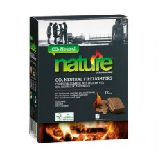 Nature CO2 Neutral BBQ & Stove Firelighters (72pcs)