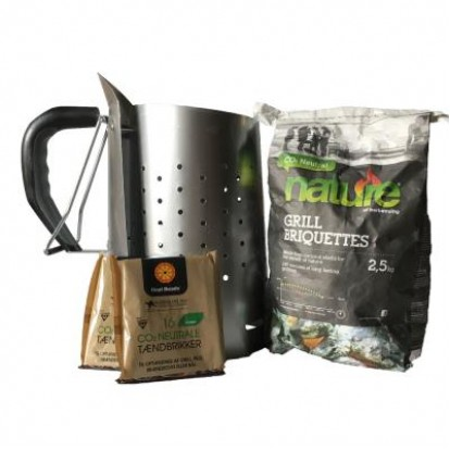 Nature Charcoal Starter Kit