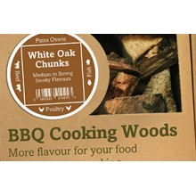Green Olive Wood Chunks - White Oak