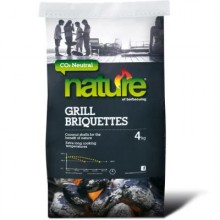 Nature Coconut Charcoal Briquettes - CO2 Neutral