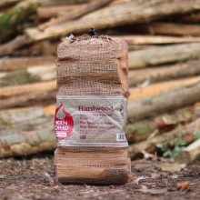 Green Olive Kiln Dried Hardwood Net Bag