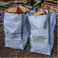 Green Olive UK Seasoned Hardwood Sack Barrow Bag x 4