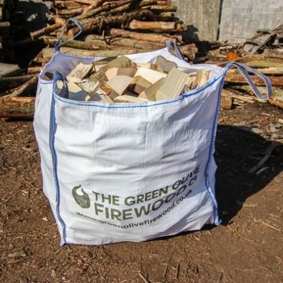 Green Olive UK Seasoned Hardwood 1.2 Meter Cubed Bag