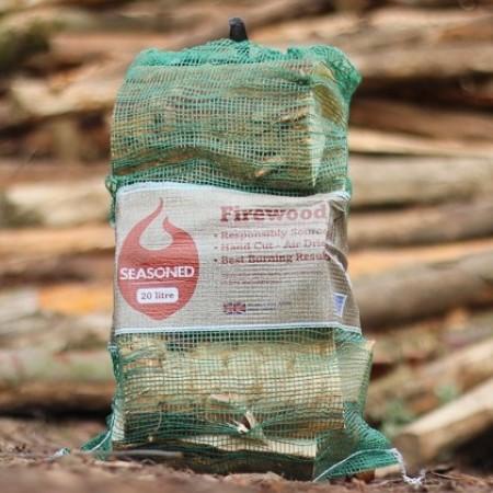 Green Olive UK Seasoned Hardwood Net Bag