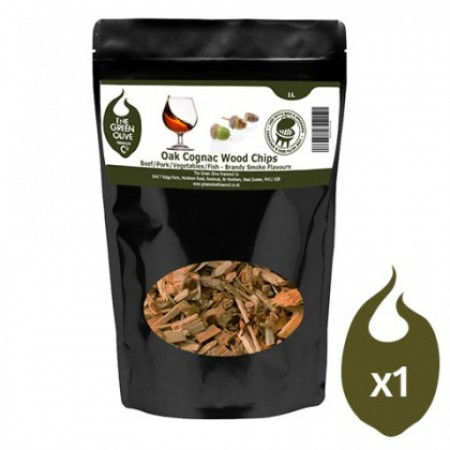 Green Olive Wood Chips - Cognac