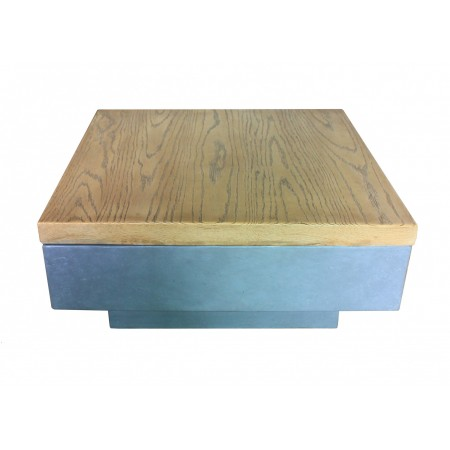 Capella Gas Fire Pit - Large Wood Cover
