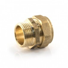 """15mm Compression x 1/2"""" Parallel Male"""