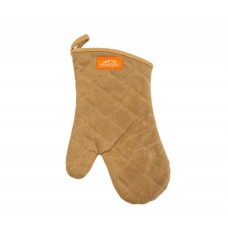 Traeger - BBQ Mitt Brown Canvas and Leather
