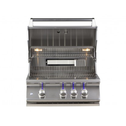 Whistler Grills - Burford 3 Built in Gas BBQ - Free Cover & Rotisserie