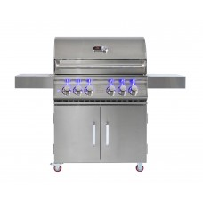 Whistler Grills Birbury 4 Gas BBQ with Free Cover and Rotisserie