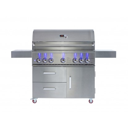 Whistler Grills Bibury 5 Gas BBQ with Free Cover and Rotisserie