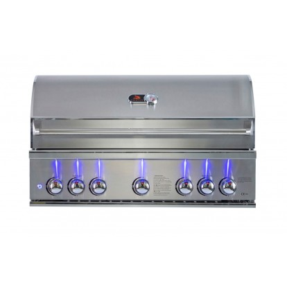 Whistler Grills - Burford 5 Built in Gas BBQ - Free Cover & Rotisserie