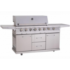 Whistler Grills Bourton 6 Gas BBQ with Free Cover and Rotisserie