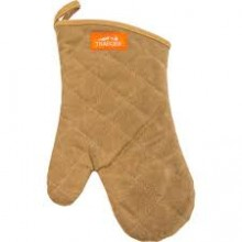 Traeger BBQ Mitt - Brown Canvas and Leather
