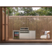 BeefEater Harmony Outdoor Kitchen with S2000 4 Burner BBQ and Single Fridge