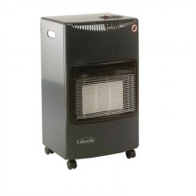 Lifestyle Seasons Warmth Portable Gas Heater in Dark Grey