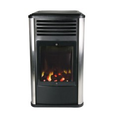 Manhattan Portable Real Flame Gas Heater - Ex Display
